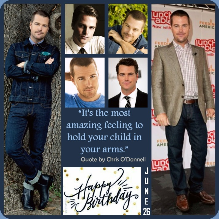 Happy Birthday Chris O'Donnell - June 26 Event